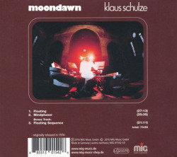 KLAUS SCHULZE/Moondawn (1976/6th) (クラウス・シュルツェ/German)