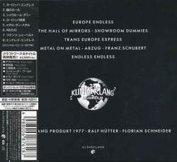 KRAFTWERK/Trans Europe Express(ヨーロッパ特急)(Used CD) (1977/6th) (クラフトヴェルク/クラフトワーク/German)