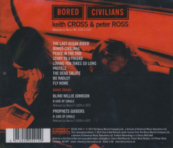 KEITH CROSS & PETER ROSS/Bored Civilians (1972/only) (キース・クロス&ピーター・ロス/UK)