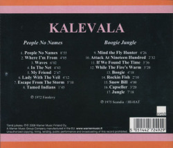 KALEVALA/People No Name + Boogie Jungle(Used CD) (1972+75/1+2th) (カレワラ/Finland)
