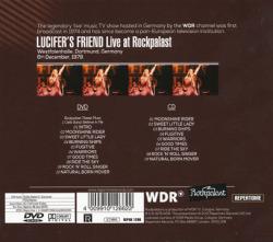 LUCIFER'S FRIEND/Live At Rockpalast 1978 (1978/DVD+CD) (ルシファーズ・フレンド/German,UK)