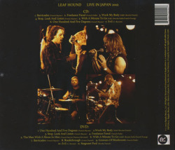 LEAF HOUND/Live In Japan 2012 (2012/CD+DVD) (リーフ・ハウンド/UK)