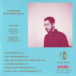 LEO SVIRSKY/River Without Banks (2019/3rd) (レオ・スヴァースキー/USA)