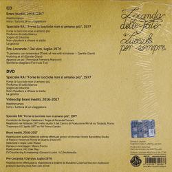 LOCANDA DELLE FATE/Lucciole Per Sempre(CD+DVD) (1974-2017/Unreleased) (ロカンダ・デッレ・ファーテ/Italy)