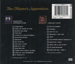 THE MASTER'S APPRENTICES/Same + Choice Cuts(Used 2CD) (1967+71/1+3th) (ザ・マスターズ・アプレンティシズ/Australia)