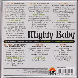 MIGHTY BABY/At A Point Between Fate And Destiny: The Complete Recordings(6CD Box) (1969-71/Comp.) (マイティ・ベイビィ/UK)