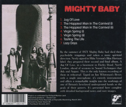 MIGHTY BABY/Slipstreams: In Rehearsal Summer 1971 (1971/Unreleased) (マイティ・ベイビィ/UK)