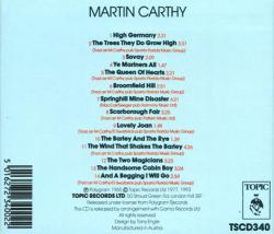 MARTIN CARTHY/Same (1965/1st) (マーティン・カーシー/UK)