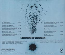 MIDNIGHT CIRCUS/Same(Used CD) (1972/only) (ミッドナイト・サーカス/German)
