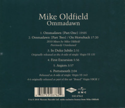 MIKE OLDFIELD/Ommadawn(Used CD) (1975/3rd) (マイク・オールドフィールド/UK)