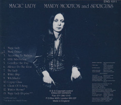 MANDY MORTON and SPRIGUNS/Magic Lady(Used CD) (1978/only) (マンディ・モートン&スプリガンズ/UK)