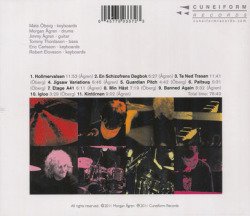 MATS/MORGAN/Live (1999/Live) (マッツ&モルガン/Sweden)