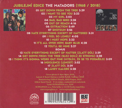 THE MATADORS/Same: Jubilejni Edice 1968/2018 (1968/only) (ザ・マタドールズ/Czech)