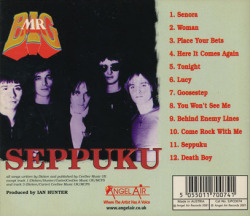 MR BIG/Seppuku(Used CD) (1978/Unreleased 3rd) (ミスター・ビッグ/UK)