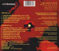NUCLEUS/Live In Bremen(Used 2CD) (1971/Live) (ニュークリアス/UK)