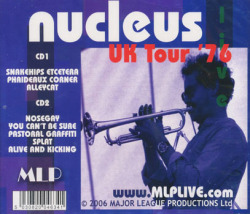 NUCLEUS/UK Tour 76 (1976/Live) (ニュークリアス/UK)