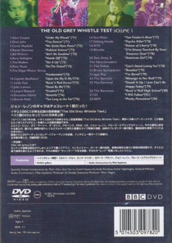 V.A./The Old Grey Whistle Test(オールド・グレイ・ホイッスル・テスト)(Used DVD) (1971-87/BBC Live)