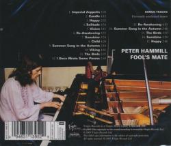 PETER HAMMILL/Fool's Mate (1971/1st) (ピーター・ハミル/UK)