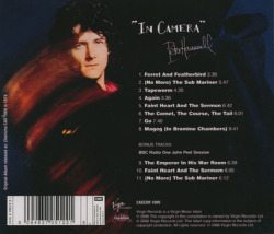 PETER HAMMILL/In Camera (1974/4th) (ピーター・ハミル/UK)
