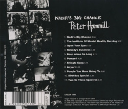 PETER HAMMILL/Nadir's Big Chance (1975/5th) (ピーター・ハミル/UK)