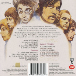 PROCOL HARUM/Live In Concert...(Used CD) (1972/6th/Live) (プロコル・ハルム/UK)