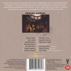 PROCOL HARUM/Procol's Ninth(Used CD) (1975/9th) (プロコル・ハルム/UK)