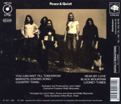 PEACE & QUIET/Same (1971/only) (ピース&クワイエット/USA)
