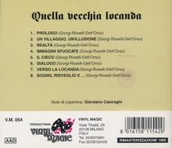 QUELLA VECCHIA LOCANDA/Same(Used CD) (1972/1st) (クエラ・ヴェッキア・ロカンダ/Italy)