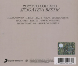 ROBERTO COLOMBO/Sfogatevi Bestie (1976/1st) (ロベルト・コロンボ/Italy)
