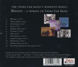 THIRD EAR BAND v ROBERTO MUSCI/Mosaic: A Tribute To Third Ear Band (2016) (サード・イアー・バンド v ロベルト・ムスチ/UK,Italy)