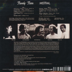 RANDY ROOS/Mistral (1978/1st) (ランディ・ルース/USA)