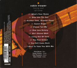 ROBIN TROWER/Living Out Of Time (2003/16th) (ロビン・トロワー/UK)