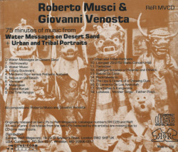 ROBERTO MUSCI & GIOVANNI VENOSTA/Messages & Portraits (1987+88/1+2th) (ロベルト・ムスチ&ジョヴァンニ・ヴェノスタ/Italy)