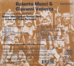 ROBERTO MUSCI & GIOVANNI VENOSTA/Messages & Portraits (1987+88/1+2th) (ロベルト・ムスチ&ジョヴァンニ・ヴェノスタ/Italy)
