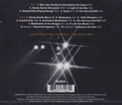 STEVE HILLAGE/Dusseldorf(2CD) (1979/Live) (スティーヴ・ヒレッジ/UK)