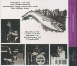 SATIN WHALE/Desert Places (1974/1st) (サテン・ホエール/German)