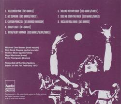 SILVERHEAD/Berlin Backlash 1973 (1973/Live) (シルヴァーヘッド/UK)