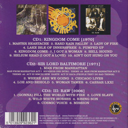 SIR LORD BALTIMORE/The Complete Recordings 1970-2006(3CD) (1970-2006/Comp.) (サー・ロード・バルティモア/USA)