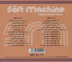 SOFT MACHINE/Tanglewood Tails(2CD) (1963-1970/Comp.) (ソフト・マシーン/UK)