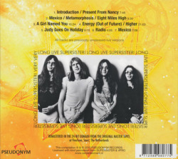 SUPERSISTER/Long Live Supersister (1971+73/Unreleased Live) (スーパーシスター/Holland)