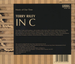 TERRY RILEY/In C (1967) (テリー・ライリー/USA)