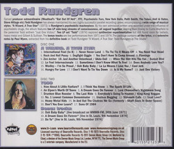 TODD RUNDGREN/A Wizard, A True Star + Todd(Used 2CD) (1973+74/4+5th) (トッド・ラングレン/USA)