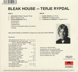TERJE RYPDAL/Bleak House (1968/1st) (テリエ・リピダル/Norway)