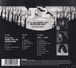 T.2./It'll All Work Out In Boomland: 3CD Expanded Edition (1970-72/Comp.) (ティ・トゥー/UK)