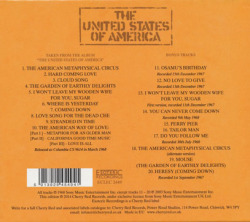 THE UNITED STATES OF AMERICA/Same (1968/only) (ザ・ユナイテッド・ステーツ・オブ・アメリカ/USA)