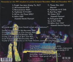 VAN DER GRAAF GENERATOR/BBC Sessions 1968-71 (1968-71/BBC) (ヴァン・ダー・グラーフ・ジェネレーター/UK)