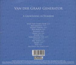 VAN DER GRAAF GENERATOR/A Grounding In Numbers (2011/Reunion 3rd) (ヴァン・ダー・グラーフ・ジェネレーター/UK)