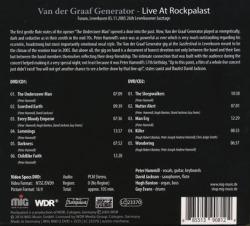 VAN DER GRAAF GENERATOR/Live At Rockpalast 2005(2CD+DVD) (2005/Live) (ヴァン・ダー・グラーフ~/UK)