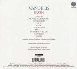 VANGELIS/Earth(Digi-Pack) (1973/6th) (ヴァンゲリス/Greece)