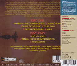 YES/Live In New Haven 1974(ライヴ・イン・ニューヘイヴン 1974/2CD) (1974/Live) (イエス/UK)